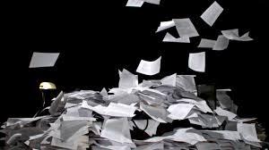 Falling Paper
