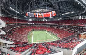 Image result for mercedes benz stadium capacity