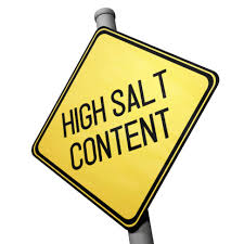 Image result for salt warning